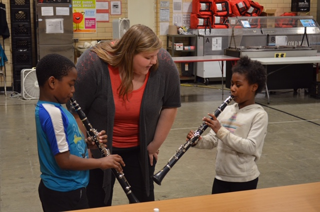 Instrument library clarinets