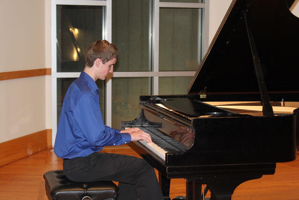 Gavin, Piano, 2018 Winner