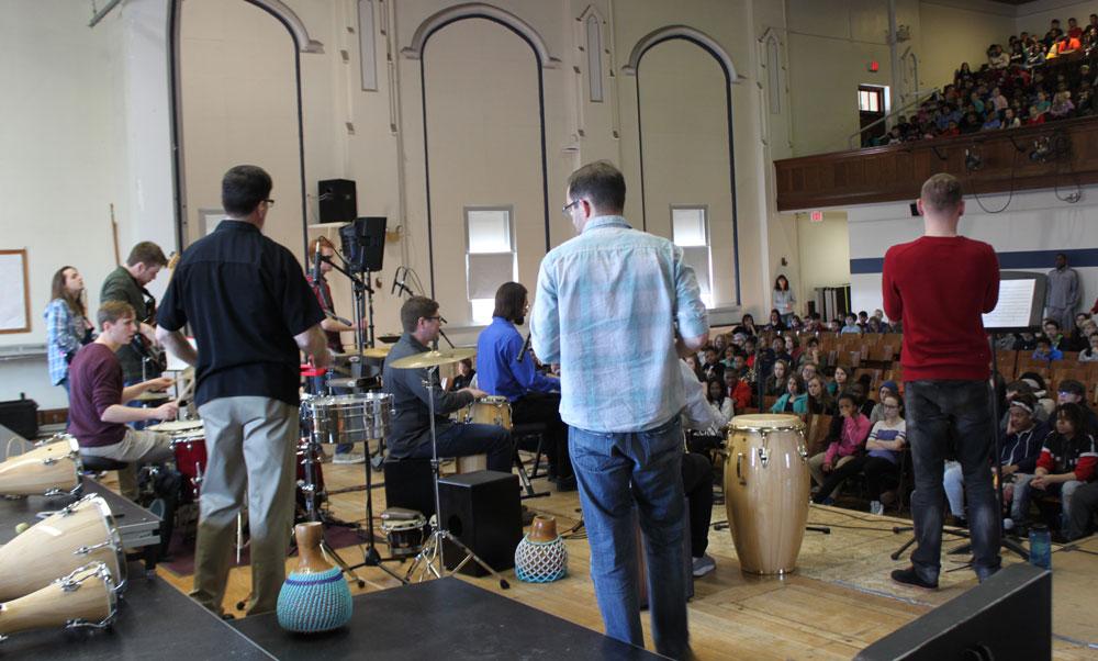 Live performance in school